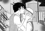 Japanese Godzilla Commission YCH kiss