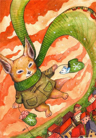 Fox by OkawaMizuki