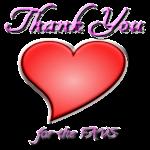 Thank you Heart by loloalien