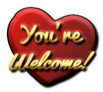 You're Welcome Heart by LoloAlien