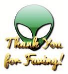 Alien Thank You for Faving 1 by LoloAlien