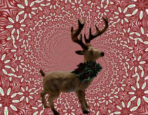 Run Run Reindeer by LoloAlien