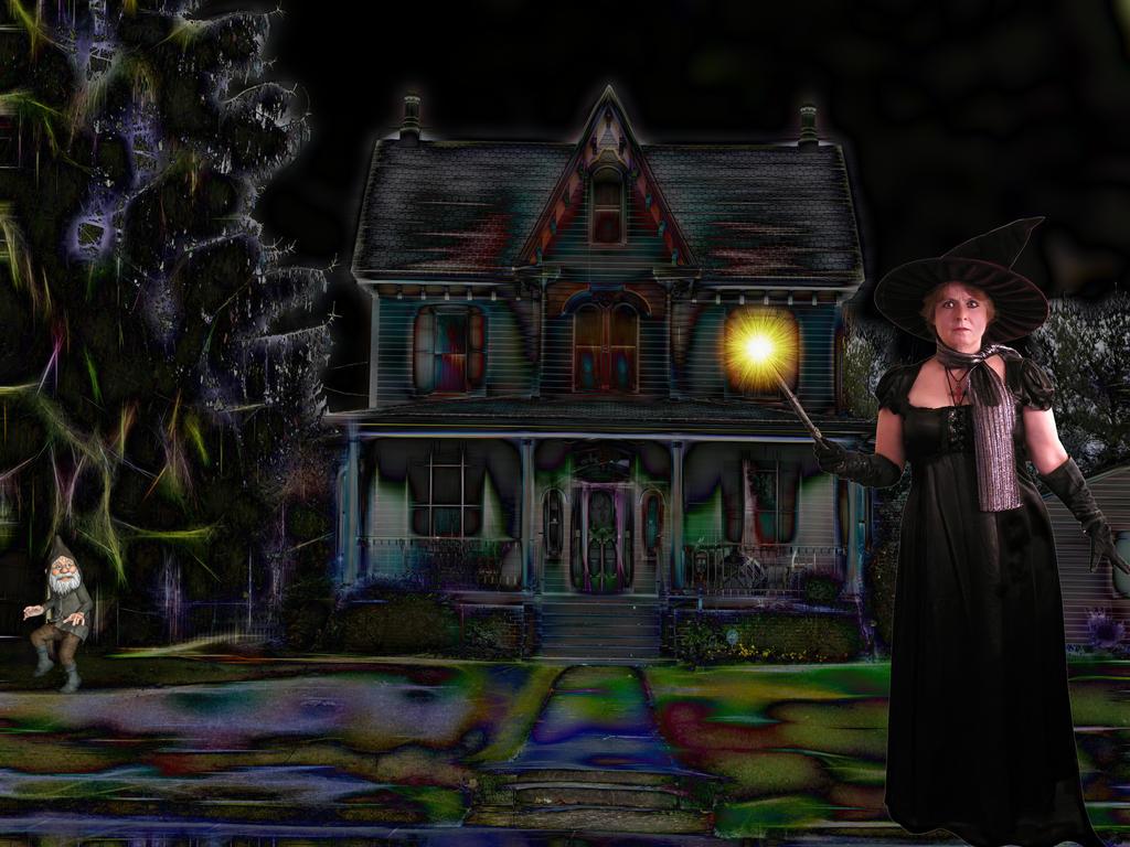 Haunted House by loloalien