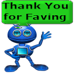 Thank You for Faving Alien by LoloAlien