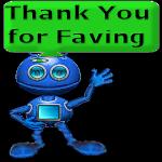Thank You for Faving Alien by LoloAlien