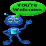You're Welcome Alien by LoloAlien