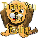 Thank You for Faving Pup 41220