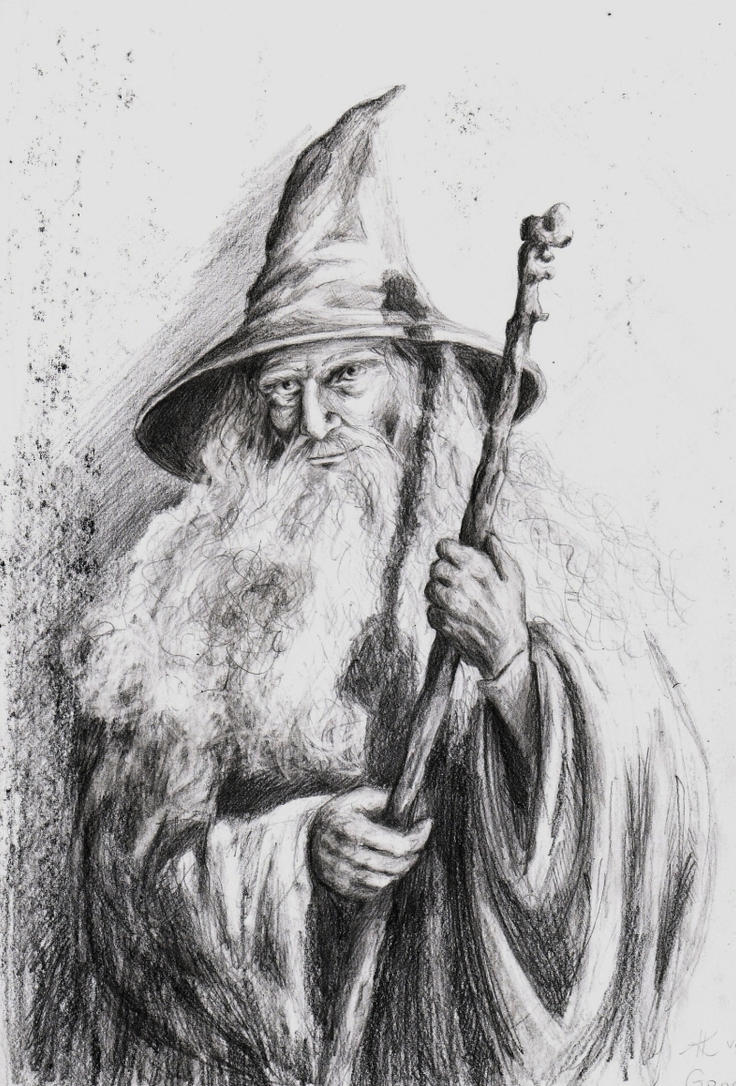 Gandalf the Grey by rysowAnia