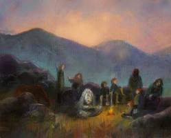 The Fellowship of the Ring by kuliszu