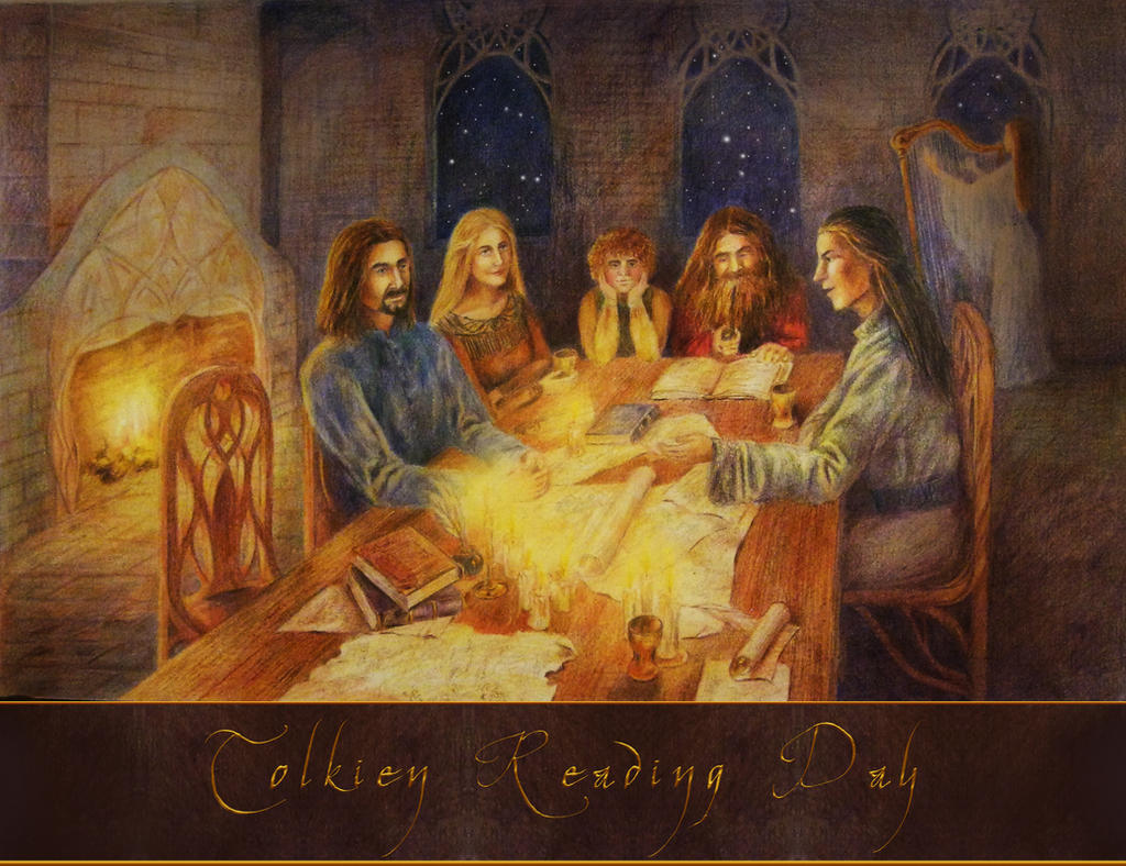 Tolkien Reading Days by AlasseaEarello
