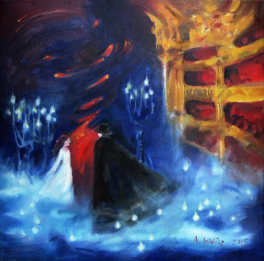 The Phantom of the Opera by rysowAnia