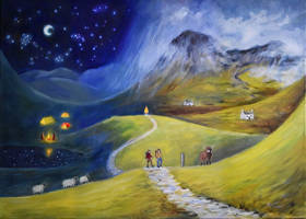 Canvas Journeys: Scottish Highlands