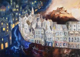 Canvas Journeys: Edinburgh