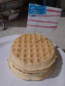 Labor Day Waffles 1