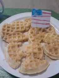 Labor Day Waffles 5