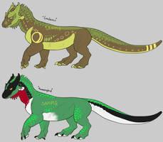 OTA [Open] Palette Dragons batch 2 by DarkElite020
