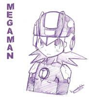 Megaman by WANNA-BE-RIKU
