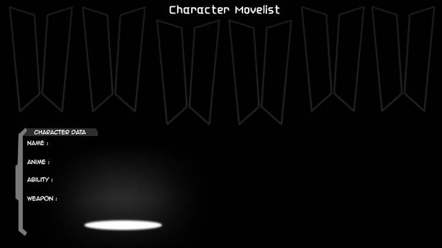 All-Stars: Movelist Screen V.2 (WIP)
