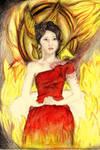 Katniss Everdeen - 'The face of the revolution' 2