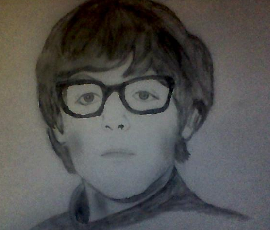Paul McCartney In Glasses By Brightarethestars