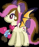 Edit/Comision. Bat pony
