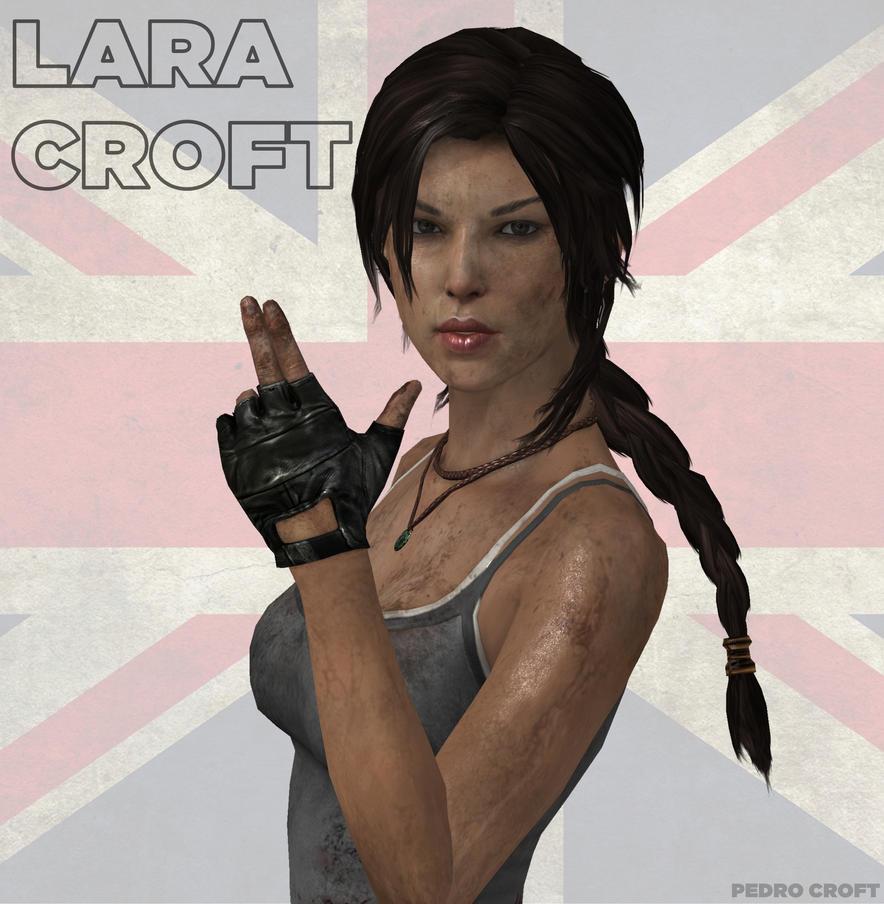 Tomb Rider Wallpaper: I Am Lara Croft! By Pedro-Croft On DeviantArt