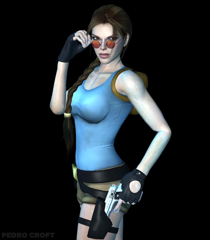 Tomb Rider Wallpaper: Classic Lara Croft By Pedro-Croft On DeviantART