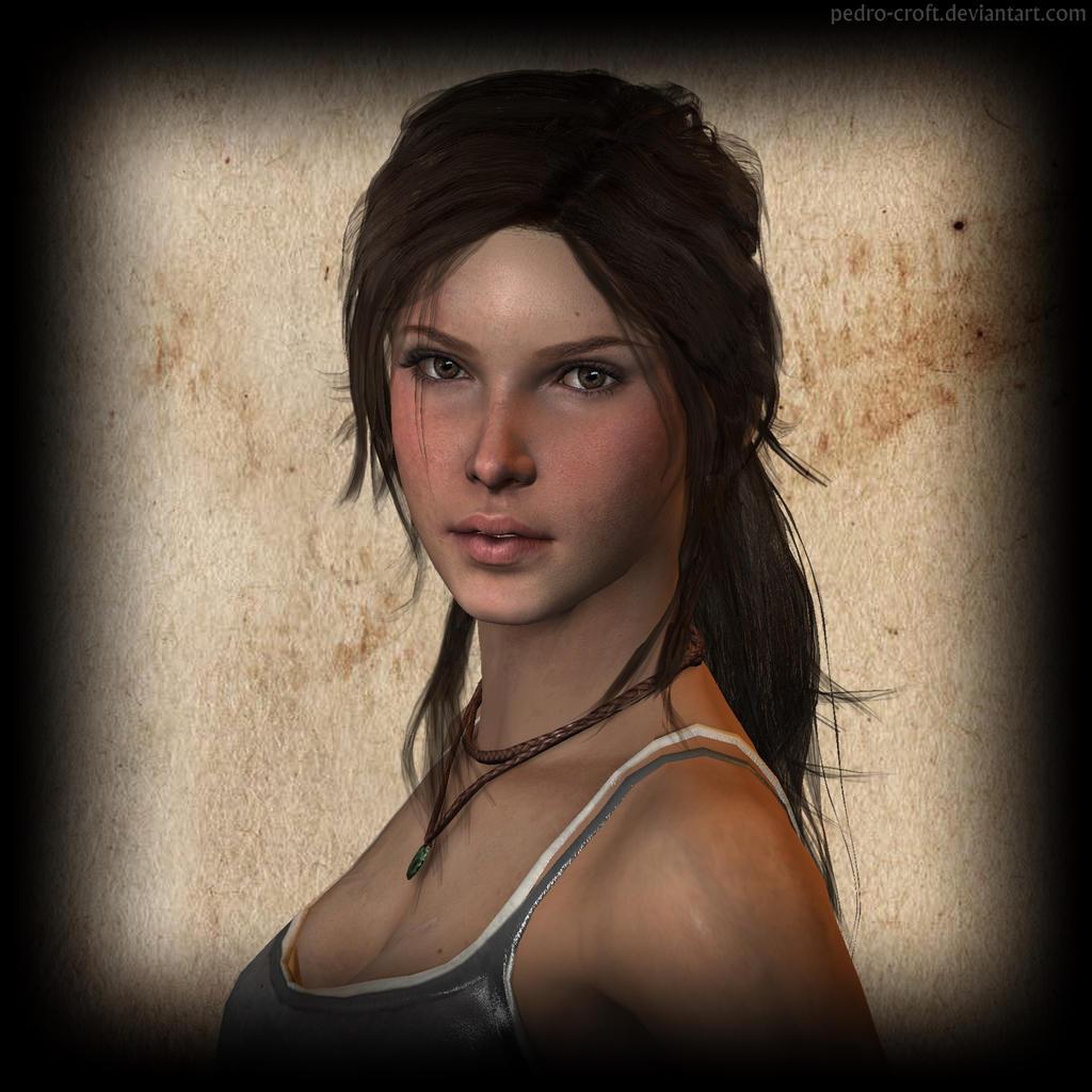 Tomb Rider Wallpaper: Lara Croft By Pedro-Croft On DeviantArt