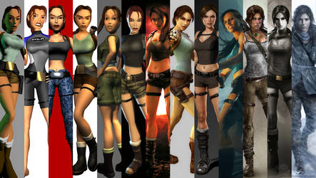 TOMB RAIDER SAGA by Pedro-Croft