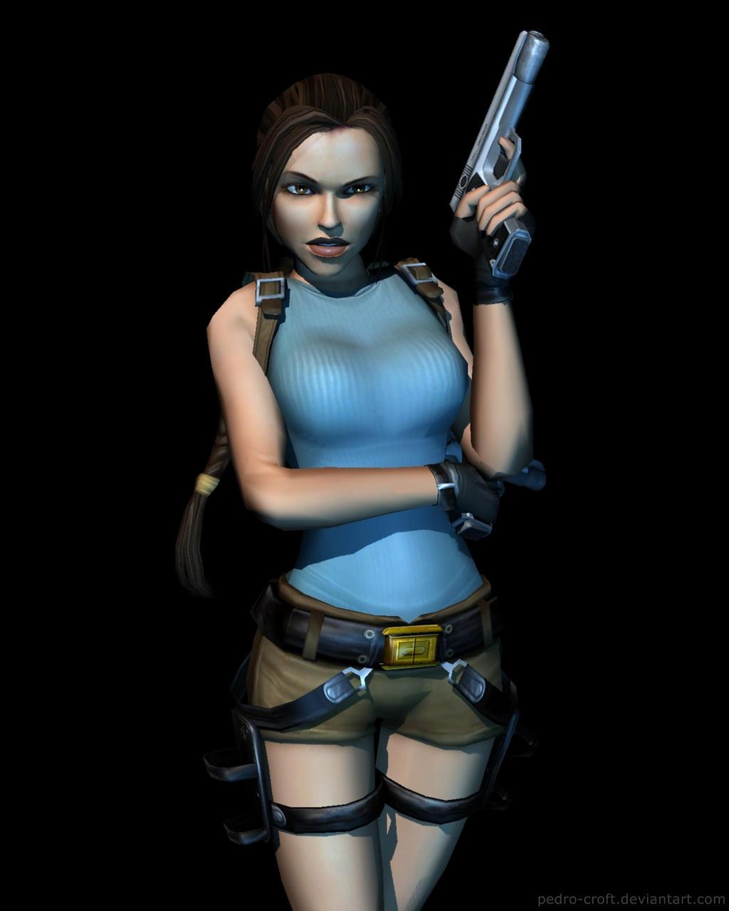 Tomb Rider Wallpaper: Anniversary Lara By Pedro-Croft On DeviantArt