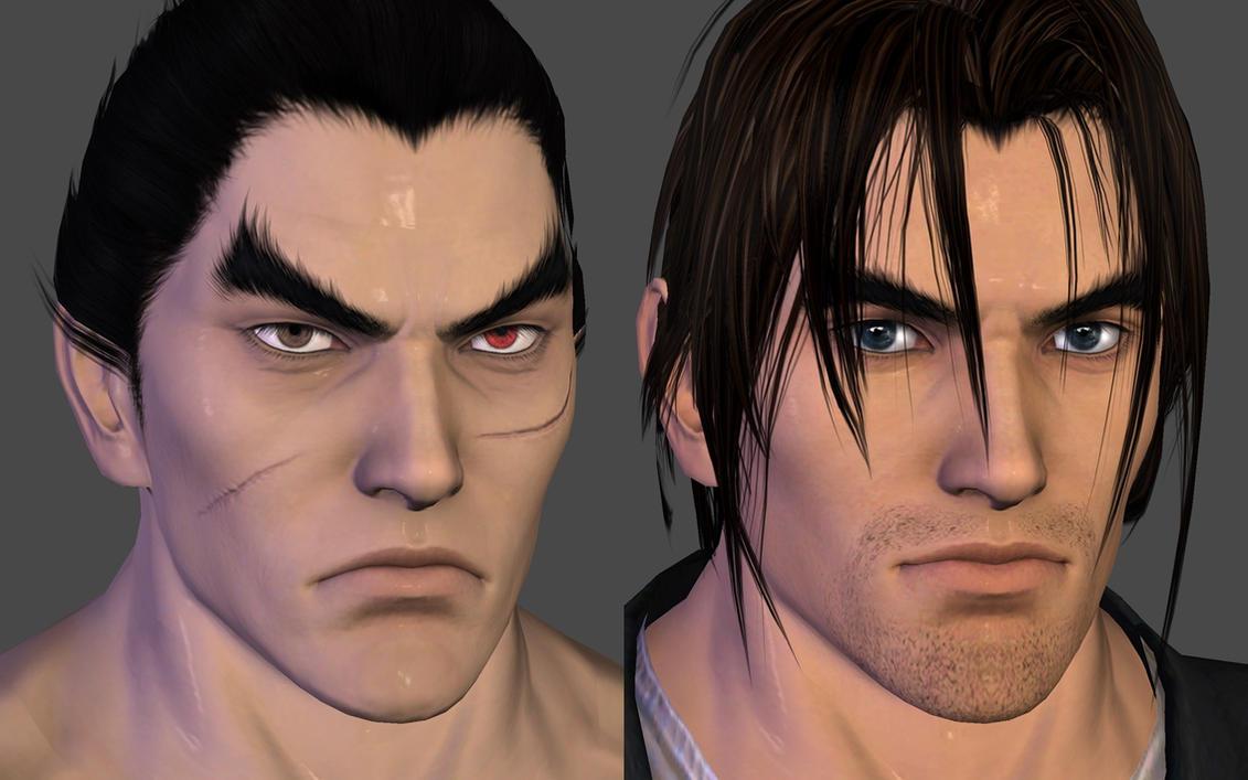 Kazuya became Kurtis. by Pedro-Croft