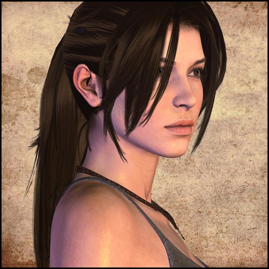 Tomb Rider Wallpaper: Lara By Pedro-Croft On DeviantArt
