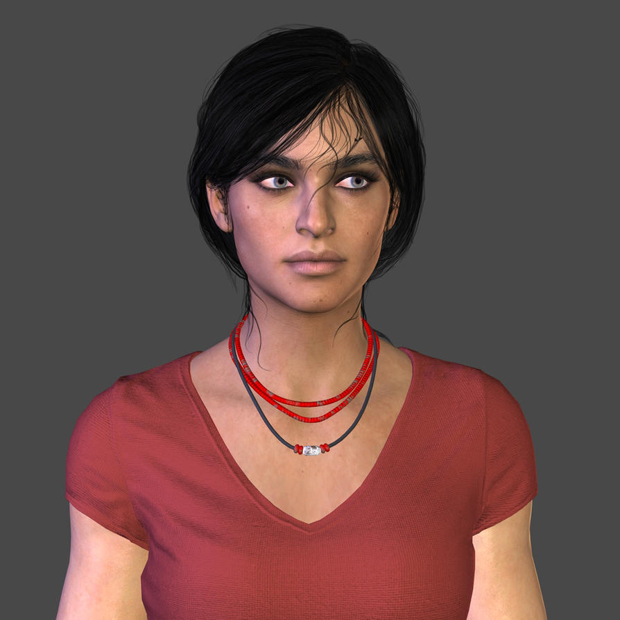 Chloe Frazer - XPS (WIP) by Pedro-Croft