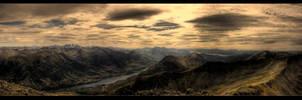 Loch Leven 1 by MyAssIsOnFire