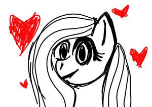 Fluttershy drawing!