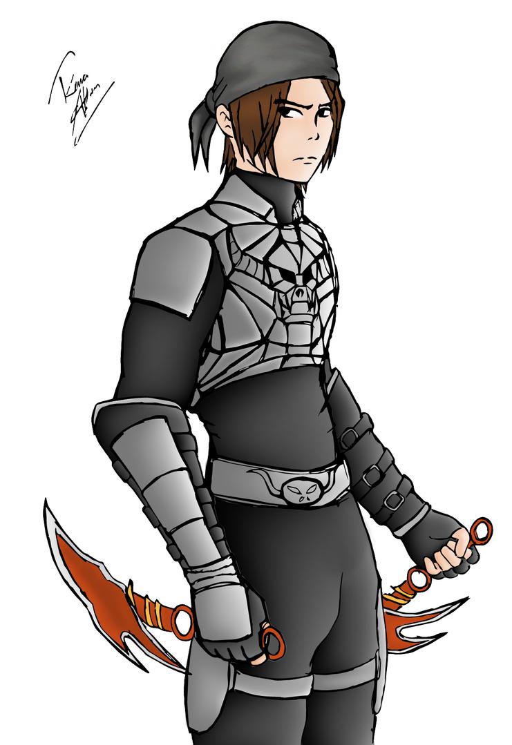 Metin2 Ninja >> Metin2 Colored Assassin by TheRhaze on DeviantArt