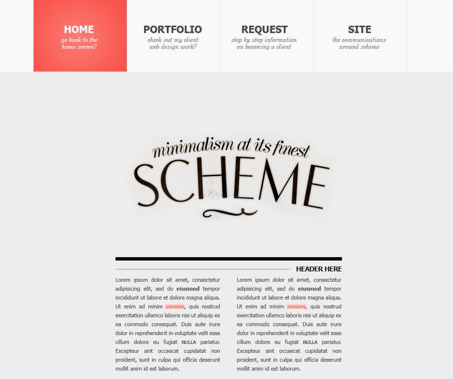 Scheme Site Design v.5 by Recite