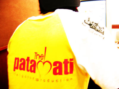PATA-HATI Tshirt by PATAH-HATI
