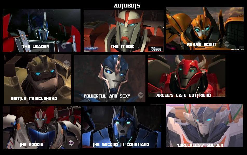 THE AUTOBOTS OF TRANSFORMERS PRIME by theuploader12 on ...