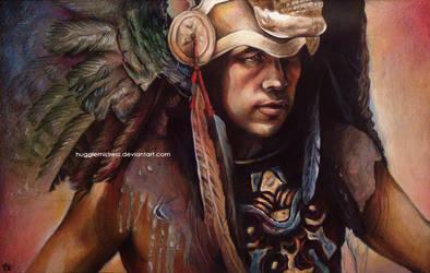 Aztec Guy Pencil by HuggleMistress