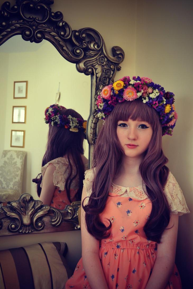 Real flower crown by topdaehan on deviantart real flower crown by topdaehan izmirmasajfo