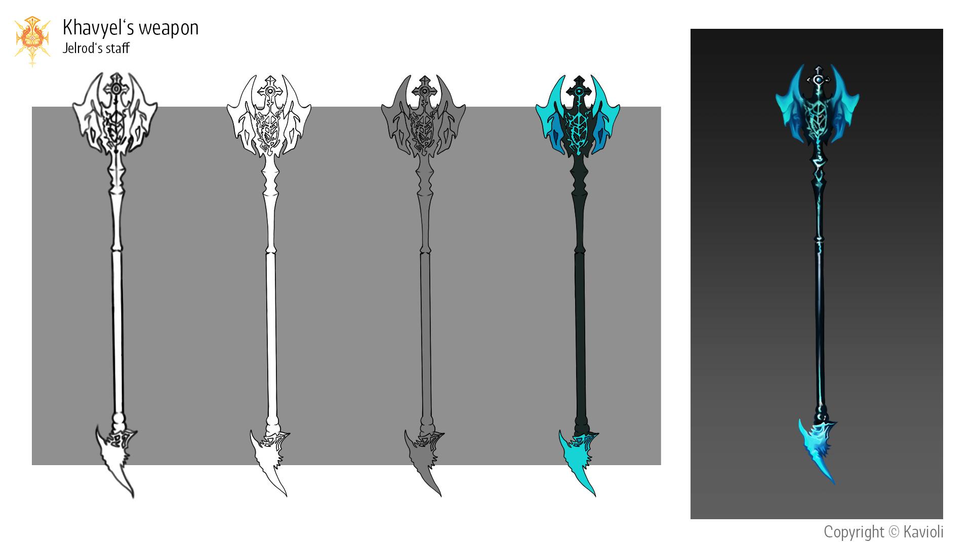 Khavyel's Weapon: Jelrod's staff