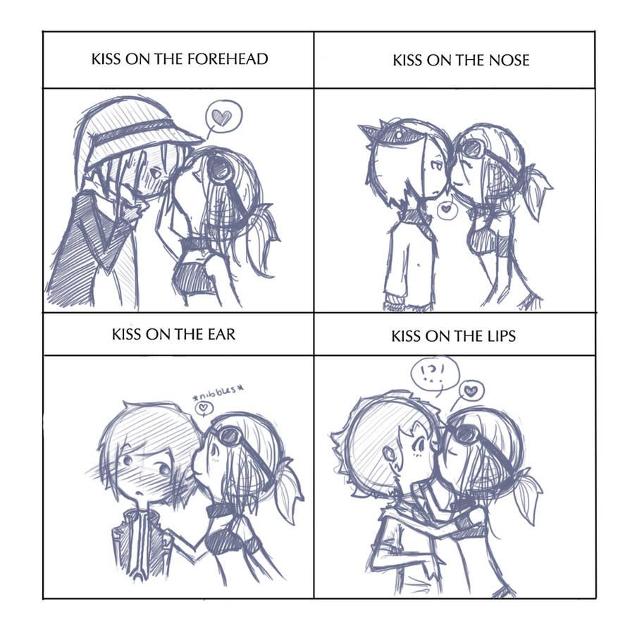Kissing meme by Despereaux-7