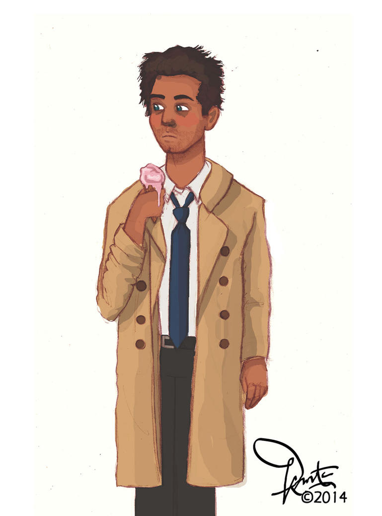 Cas+Ice Cream by muggleriot