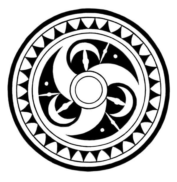 Tattoo Designs Circle: Tribal Circle By Melhadkei On DeviantArt