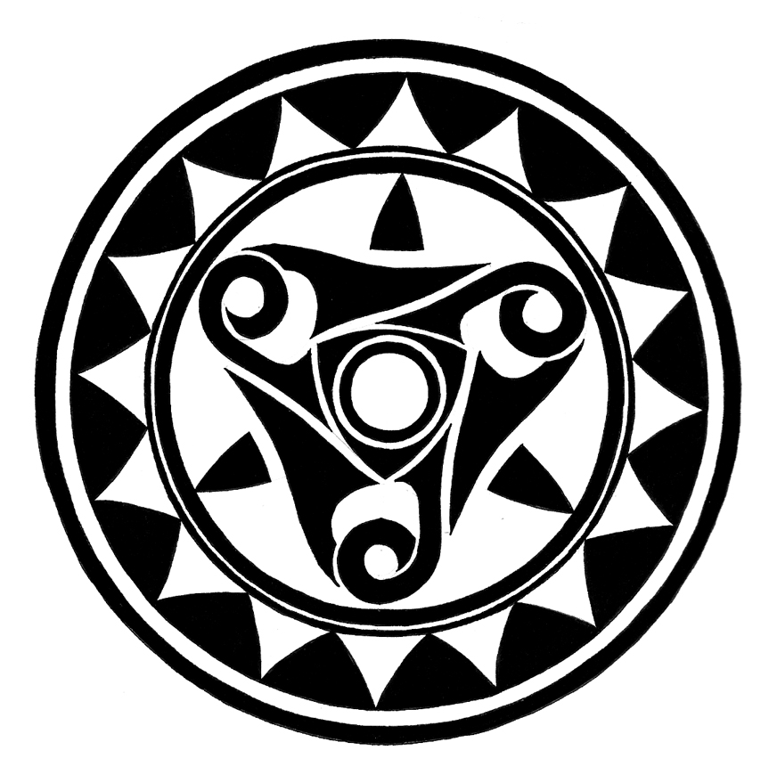 Tattoo Designs Circle: Tribal Circle 2 By Melhadkei On DeviantArt