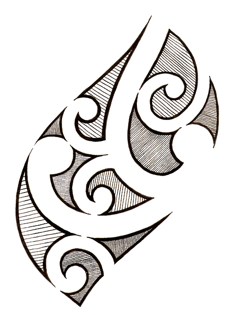 Polynesian tattoo 1 by Melhadkei on DeviantArt