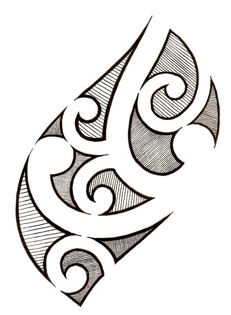 polynesian tattoo 1 by melhadkei on deviantart. Black Bedroom Furniture Sets. Home Design Ideas