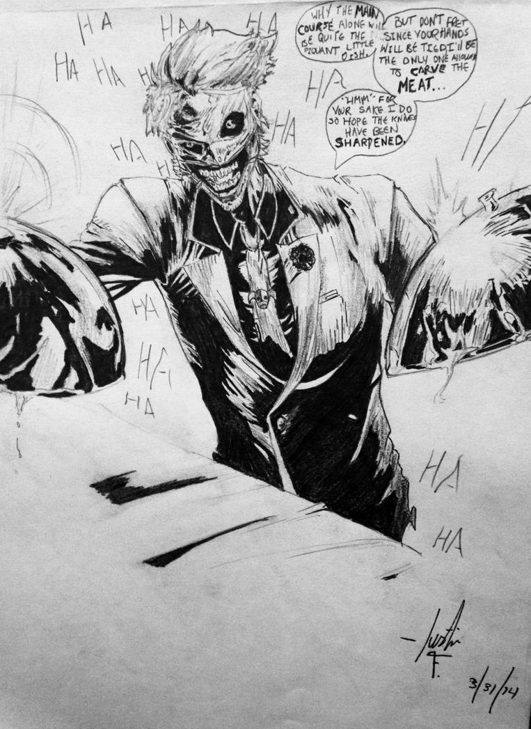 Joker by xJustanArtistx