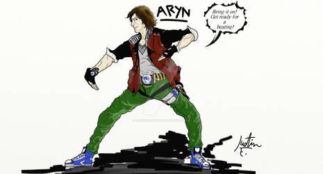 Aryn battle ready(colored)